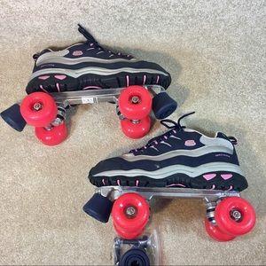 Skechers Sport Roller Skates NWOB sz 10 Summer Fun NWT